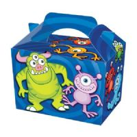 Monster Space Alien Meal Party Box